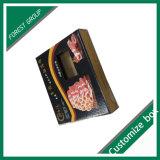 طباعة عالة رخيصة ورق مقوّى لحمة صندوق
