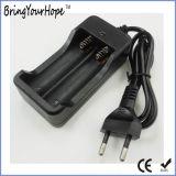 李イオン電池(XH-PB-147)の2PCSのための18650蓄電池外箱の充電器