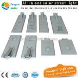 lampe de 50W DEL avec le réverbère solaire de batterie de Li