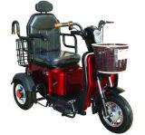 La batteria poco costosa fa funzionare il motorino elettrico del triciclo della bici per gli anziani