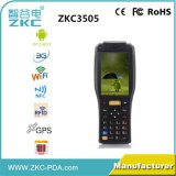 Terminal tenu dans la main PDA de 2D scanner androïde portatif de scanner de code barres avec construit dans l'imprimante
