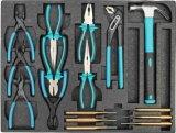 Conjunto de herramienta resistente de la carretilla de 6 cajones en la bandeja de las herramientas (FY249A1)