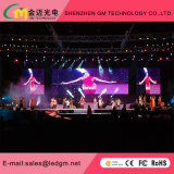 P5 Indoor Aluminium LED Cabinet Rental Display LED flexível