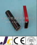 Rechteckiges Aluminiumrohr, verdrängtes Aluminiumgefäß (JC-P-82014)