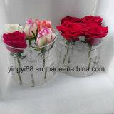 공장 직매 아크릴 꽃 상자, 새기