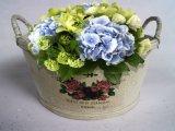 Красивейший цветочный горшок переклейки цвета журнала