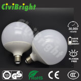 G120 18W Bombilla LED blanco cálido con Ce RoHS Global