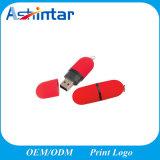 Mecanismo impulsor plástico del flash del USB del disco del USB Pendrive del lápiz labial