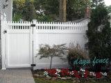 PVC Haut Jardin de piquetage Clôture Barrière