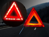 Triangle de présignalisation (trafic triangle rouge)