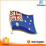Значок Pin/отворотом флагов страны металла промотирования изготовленный на заказ