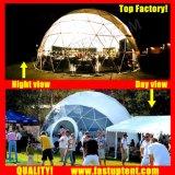 China Factory Geo Diâmetro Dome 16m Dome Geodésico tenda para a Cerimônia ao ar livre