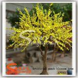 プラント人工的な黄色い花の木の美化