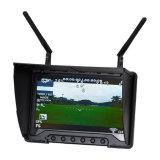 """Monitor de Fpv de los receptores duales incorporados 7 del canal 5.8GHz 40 """""""