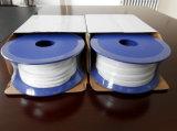 Ruban élastique en PTFE blanc étendu// Bande de bandes de joint d'Industriel