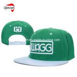 Casquillo y sombrero verdes del camionero del bordado 3D del SGS