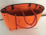 カスタム女性の標準的なネオプレンのトートバックのハンドバッグ浜袋