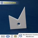 Mattonelle di ceramica di usura dell'alta allumina resistente dell'abrasione