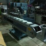 6개의 색깔 세라믹 접시 패드 인쇄 기계