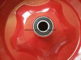 Gomma libera piana 4.00-8 della rotella della gomma piuma dell'unità di elaborazione per il carrello della mano