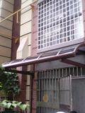 Sombrilla de alta calidad del toldo de la terraza del toldo del fabricante hecho del policarbonato