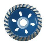Roda de moedura do diamante de Turbo para a alvenaria (JL-DGWS)