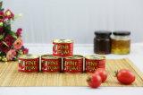 Сконцентрированный двойником томатный соус тавра Vego внутри может