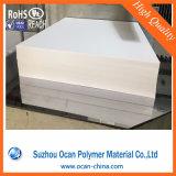 Пластмасса фабрики Китая твердая покрывает белый штейновый 4X8/лоснистый лист PVC