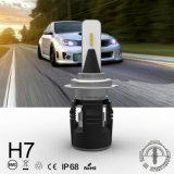 B6 автомобиля H7 СВЕТОДИОДНЫЕ ФАРЫ С турбины 24W 3600лм наилучшего качества
