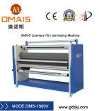 Linerless máquina laminadora automática de rollo de película frío