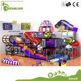 Preços internos do equipamento do campo de jogos do tema profissional do espaço para a família