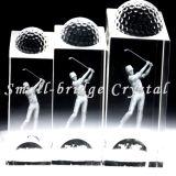 Trofeo de Golf de cristal (JB0152)