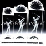 Trofeo cristalino del golf (JB0152)