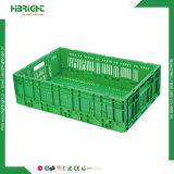 Empilables et caisse de fruits en plastique pliable