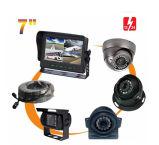 """quarte de 7 """" Digitals/moniteur écran divisé avec la fonction intégrée de DVR et carte SD 64GB pour des systèmes de sécurité de recul de vue arrière"""