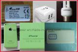 Laser della macchina della marcatura del sacchetto di imballaggio per alimenti della bottiglia di acqua con la linea di produzione