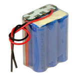 18650 3.7V de Batterij van de Bank van de Macht van het 2500mAhLithium