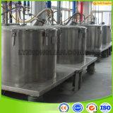 Aufzug-Beutel-grosse Kapazitäts-industrielles Korb-Filter-Zentrifuge-Trennzeichen der Serien-Pd1000 flache