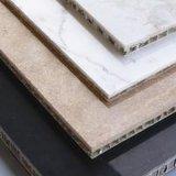 Panneaux en aluminium de nid d'abeilles de pierre à chaux légère pour la décoration de mur