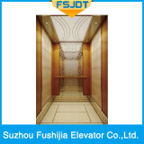 Ascenseur luxueux de passager de la capacité 1000kg de Fushijia avec l'étage de marbre