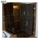 10m m teñieron recinto de cristal endurecido flotador de la pantalla de ducha del baño de /Clear de cristal