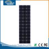 80W Outdoor tous dans une rue lumière solaire LED intégrée