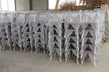 Limewash結婚式のイベントのための木Xの十字の背部椅子