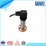 Transmissor de pressão de 4-20 mA inteligente com diafragma embutida para Alta Temperatura