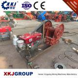 De Maalmachine van de Kaak van de steen PE250X400 met Dieselmotor