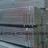 Tubos de acero cuadrados o rectangulares galvanizados