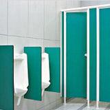 Fonction Meubles Décoration compact HPL pour toilettes