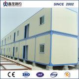 Comodidades prefabricadas de la casa del envase de la estructura de acero ligera con la instalación fácil