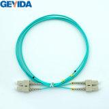 Sc Duplex Om3 Cable de conexión de fibra óptica