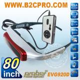 """80"""" de vidro de vídeo 3D (EVG920D)"""